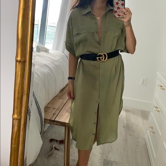 Faithfull the Brand Dresses & Skirts - Faithfull the Brand Gigi Olive Dress
